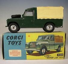 CORGI toys 438 Land rover 109 Lighting vert emballage d'origine Nº 2 #157