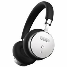 BÖHM Bluetooth Wireless On-Ear Noise Canceling Headphones - Black / Silver BOHM