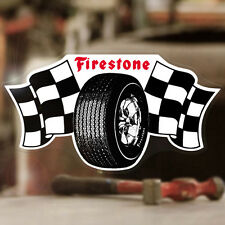 Firestone Aufkleber Sticker Autocollante Hot Rod Rat Old School new style 145mm