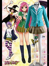 Rosario and Vampire Capu 2 Akashiya Moka Uniform Cosplay Costume Cartoon Charact