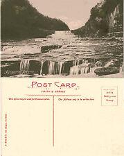 1900's AYSGARTH FALLS WENSLEYDALE YORKSHIRE POSTCARD
