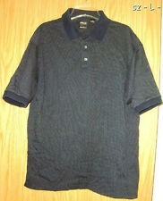 Nice PING Polo Golf Shirt Size L Blue White