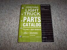 2008 Lincoln MKX Factory Original Parts Catalog Manual AWD 3.5L V6