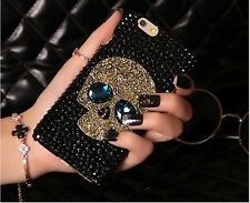 Sapphire Skull Crystal Case cover for Apple iphone7 4.7' E5232