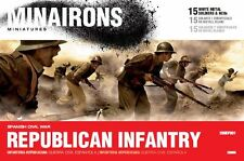 Minairons 1:72 Republican Infantry - 20mm Spanish Civil War