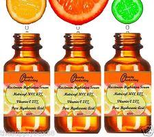 2.2 oz 100% Hyaluronic acid, 25% Vitamin C, 45% Matrixyl 3000. The BEST Serum!!!