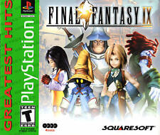Final Fantasy IX  FF 9  (PLAYSTATION 2 PS1 / PS2/ ps3)  Greatest Hits  new