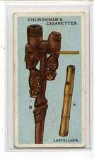 (Jm205-100) Churchman,Pipes Of The World,Australasia,1927 #18