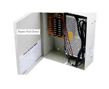 8 Channel CCTV Camera Power Supply - 12VDC - 13Amps Security Camera *NEW*