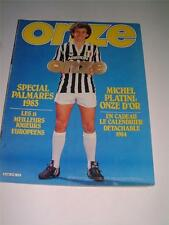 ONZE 1983 MAG MICHEL PLATINI JUVENTUS SAFET SUSIC FALCAO AS ROMA & RUMMENIGGE