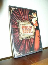 Moulin Rouge starring Nicole Kidman & Ewan McGregor  (DVD, 2009, Widescreen)