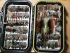 40 Preselected Fly Assortment & Fly Box - Trout, Panfish, Crappie