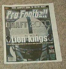 2000 Pro Football Weekly Draft Preview Magazine - LaVar Arrington