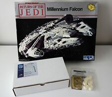 Millennium Falcon model kit + 2 resin & photoetch upgrade kits HTF OOP Star Wars
