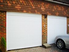 *SALE* 77mm Electric Insulated Roller Garage Door in White
