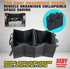 Heavy Duty Car Boot Organiser Trunk Vehicle Organizer Collapsible Space Saving