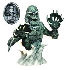 UNIVERSAL MONSTERS CREATURE FROM THE BLACK LAGOON BLACK & WHITE BUST BANK