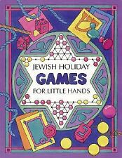 Jewish Holiday Games for Little Hands (Activity Books)-ExLibrary