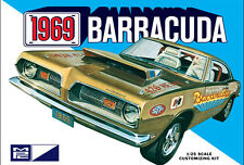 MPC 1969 Plymouth Barracuda 3 in 1 model kit 1/25