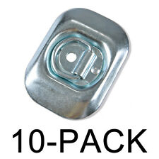 Surface Mount D-Ring 4,000 lb. Capacity Tiedowns 10 Pack