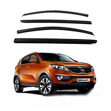 Smoke Window Vent Sun Visor Rain Guards for 2011 - 2013 Kia Sportage R