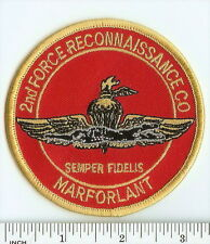USMC 2nd Force Reconnaissance Company color PATCH ! Marines ! 2d FRC MarForLant