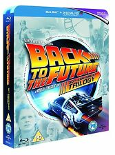 BACK TO THE FUTURE Trilogy [Blu-ray 4-Disc Set] Complete 1 2 3 Collection NO UV
