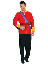 Mens Adult Royal Handsome Prince Charming Pantomime Panto Fancy Dress Costume