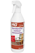 HG Hardwood Garden Furniture Cleaner Colour Renovator 500ml Restores Hardwood