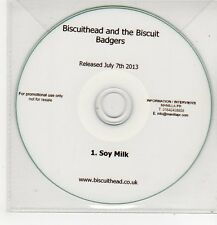 (FF282) Biscuithead And The Biscuit Badgers, Soy Milk - 2013 DJ CD