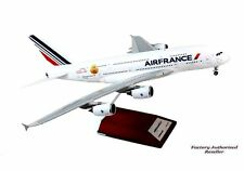 "Airplane AIR FRANCE Airbus A380 14"" Desktop Diecast  Metal Model Aircraft"