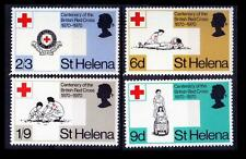 St Helena MNH 4v, Medicine, Red Cross, First Aid, Mouth to Mouth Respiration
