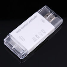 Multi-function TF SD Memory Card Reader USB Camera Connection Kit for iPad 3 2 1