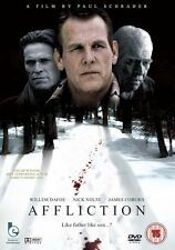 Affliction DVD Nick Nolte James Coburn New and Sealed Original UK Release R2