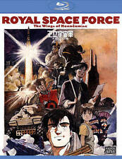 Royal Space Force - The Wings of Honneamise (Blu-ray) Maiden Japan SF anime NEWR