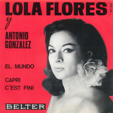 LOLA FLORES Antonio Gonzalez El Mundo SP Press Belter 07-261 EP
