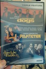 Reservoir Dogs/Pulp Fiction/Jackie Brown (DVD, 2012, 3-Disc Set) NEW - Free S&H