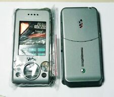 gray Fascia facia housing cover case faceplate for Sony Ericsson W580 W580i