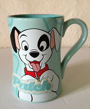 101 Dalmatians Large Mug Blue White Disney Patch Gift