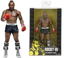 Rocky III Clubber Lang in Black Trunks Series 1 Action Figure NECA