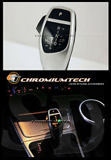 BMW E87 1-Series E84 X1 SILVER LED Shift Gear Knob for LHD w/Gear Position Light