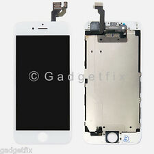 USA White LCD Screen Display + Touch Screen Digitizer + Heat Shield for iphone 6
