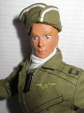 "DRESSED ACTION FIGURE C ~1:6 SCALE 12"" LOOSE MILITARY FORMATIVE ARTICULATED DOLL"