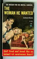 THE WOMAN HE WANTED by Winston rare Beacon #B118 sleaze gga pulp vintage pb