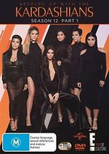 Keeping Up With The Kardashians : Season 12 : Part 1 (DVD, 2016, 3-Disc Set)
