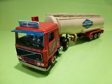 TEKNO HOLLAND VOLVO F12 INTERCOOLER TRUCK+TANKER - NIJHOF WASSINK- RED 1:50 - VG