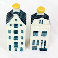 NEW KLM First Class In-flight Ceramic Dutch Houses X 2 - Bols