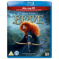BRAVE [3D + 2D] DISNEY PIXAR 2-DISC BLU-RAY SET REGION-FREE BRAND NEW SEALED