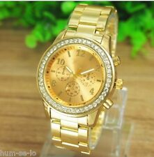 GENEVA BRAND GOLD WOMEN WRIST WATCH
