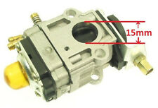 15mm Carburetor Carb 43cc 49cc 52cc Petrol Gas Scooter Motor Engine go cart
